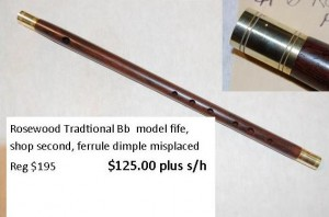 Rosewood Trad Bb special
